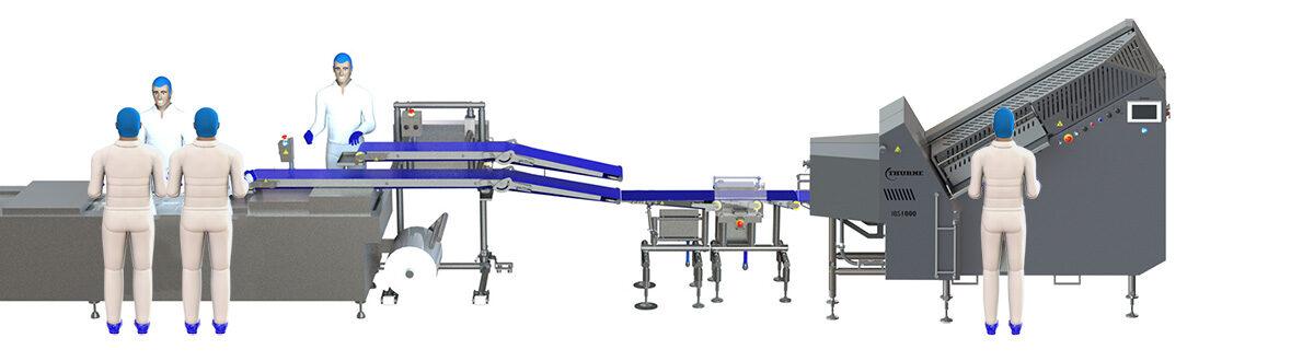 IBS1000 Slicing System für SB-Bacon