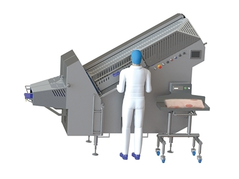 IBS1000 Bacon Slicer mit Predictive Waage