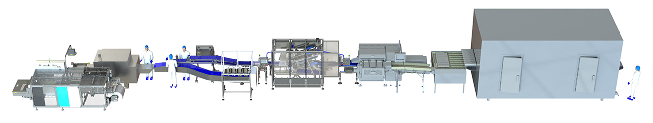 Middleby Case Ready Meat Portioning Line